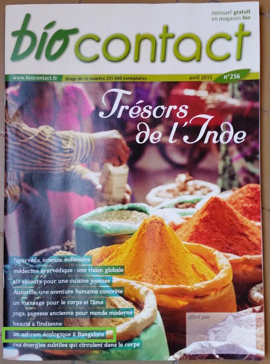 Couverture biocontact - Avril 2015